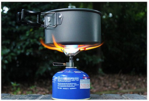 BRS Only 25g BRS-3000T Ultra-Light Titanium Alloy Camping Stove Gas Stoves Outdoor
